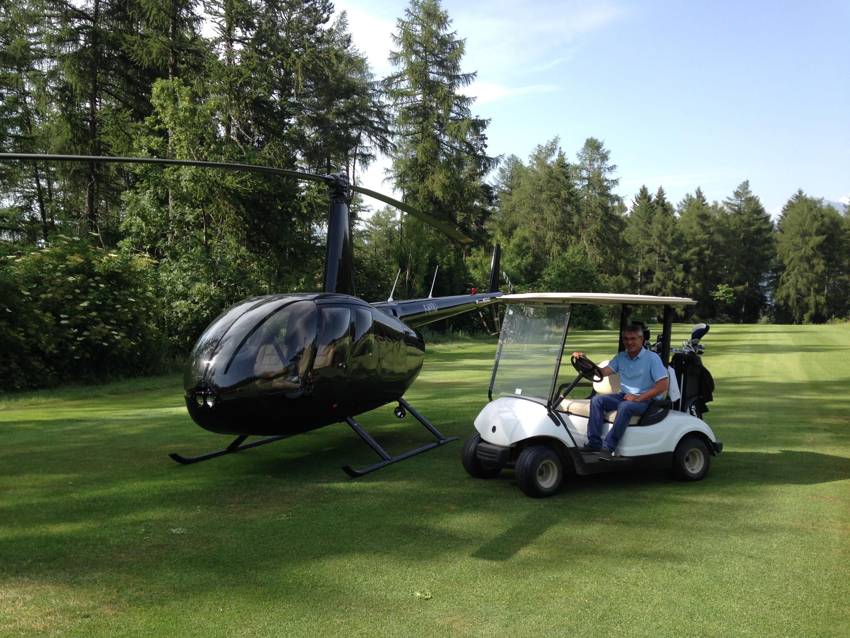Hélicopter à Bayard