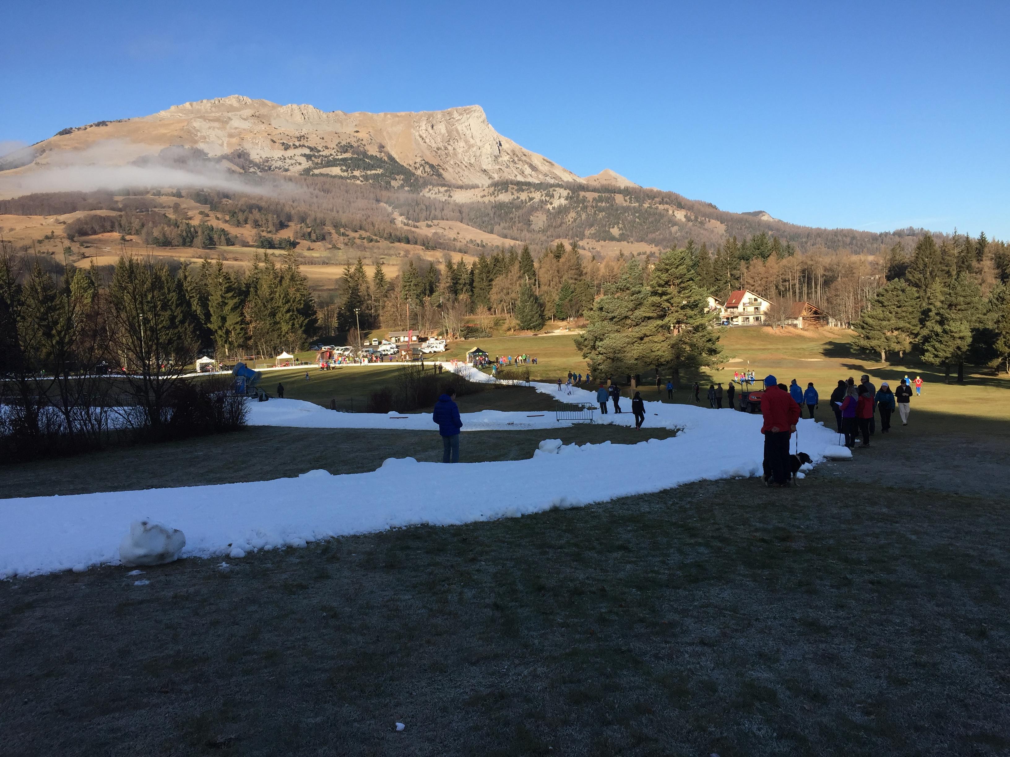 Plus de neige à Bayard qu'au sommet de Gleize