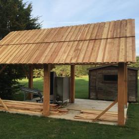 Construction en bois, un savoir faire de plus de l'équipe TERRAIN
