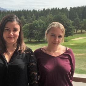 Célia et Claudine partagent l'accueil séjour du Centre d'Oxygénation
