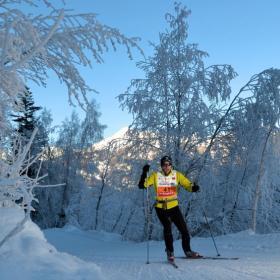 skieuse de fond