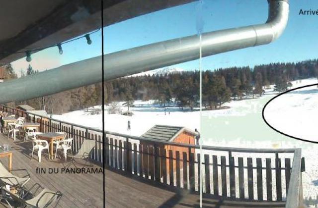 Vue de la Webcam comme si vous étiez à l'intérieur