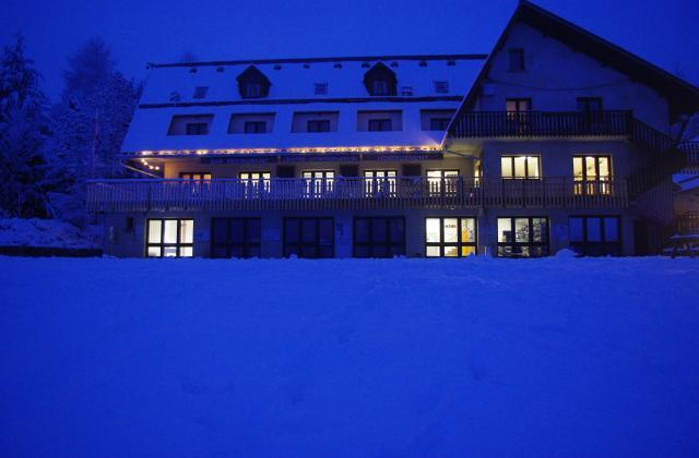 Ski nocturne à Bayard