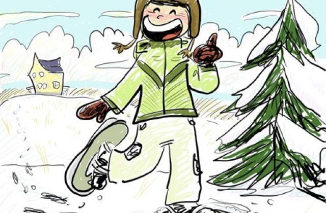 Sortie Raquette plaisir avec l'Ecole de ski de Gap Bayard
