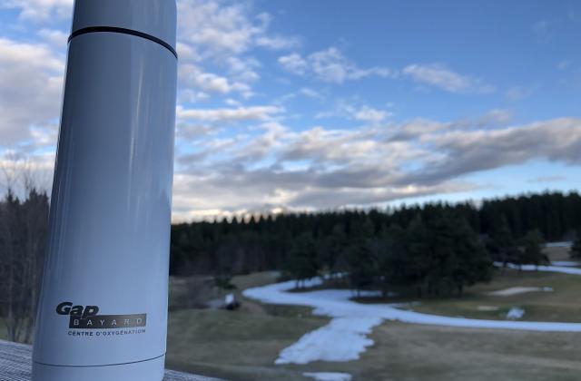 Thermos 50cl logoté BAYARD offert à tous les PASS SAISON 2019